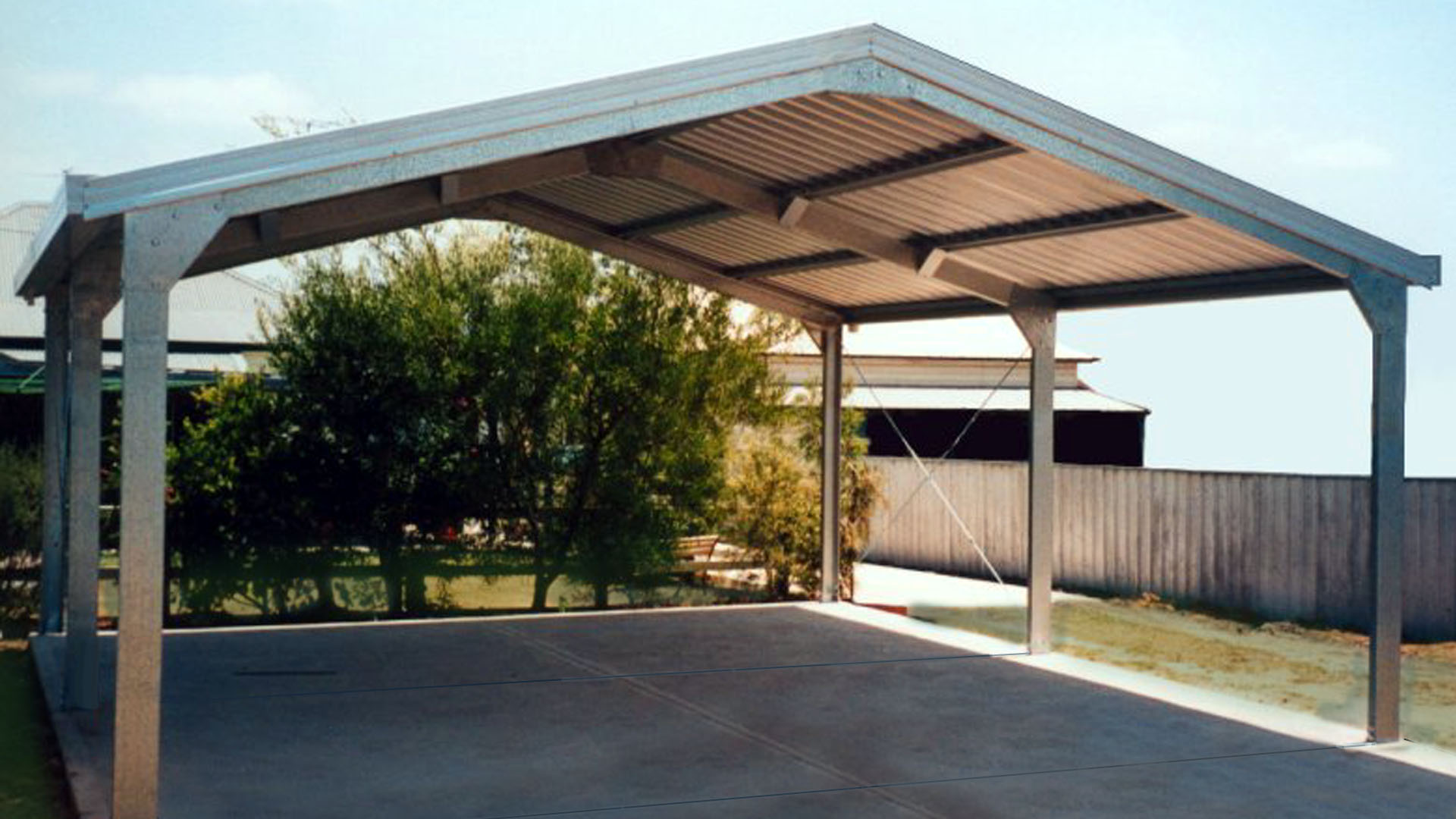 Carports carports and garaports for Carport ou garage