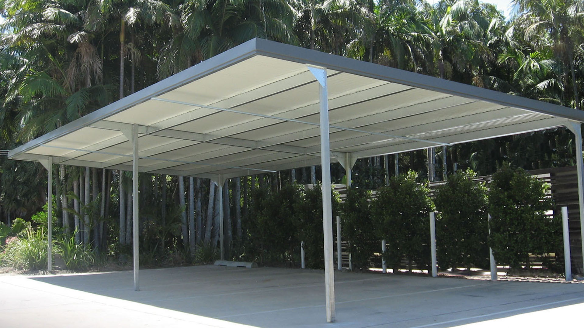 Carports carports and garaports for Single garage with carport