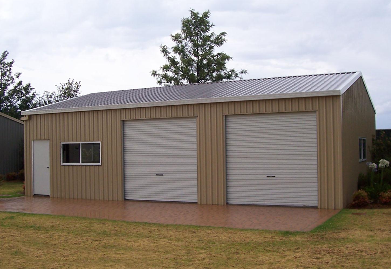 Garages steel sheds garages and garden sheds for Garages and workshops