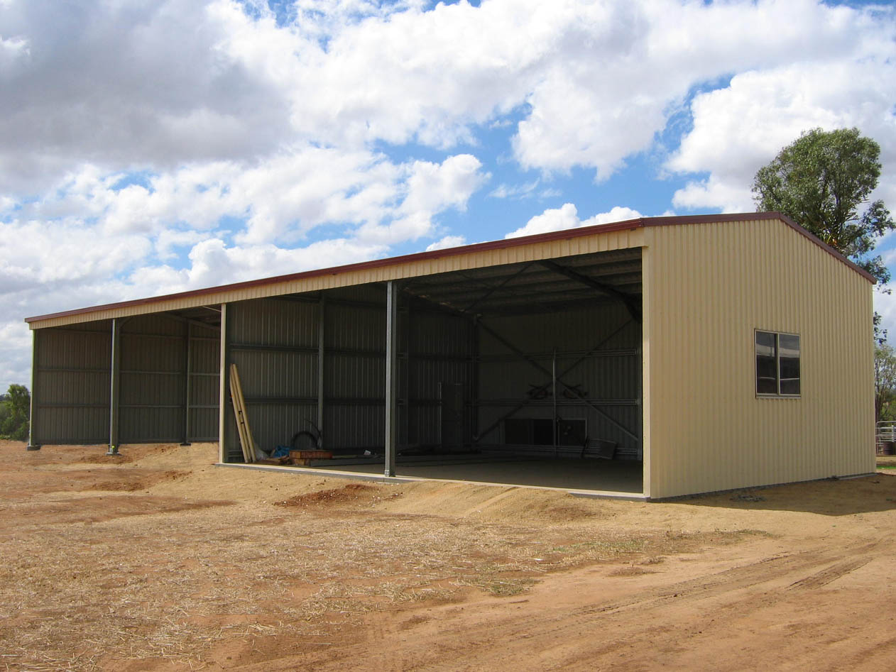 Farm Sheds - hay sheds, hangars, barns, machinery sheds and stock shelters